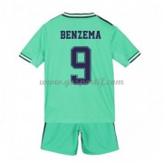 Real Madrid maillot de foot enfant 2019-20 Karim Benzema 9 maillot third..