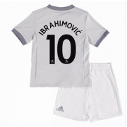 Manchester United maillot de foot enfant 2017-18 Zlatan Ibrahimovic 10 maillot third